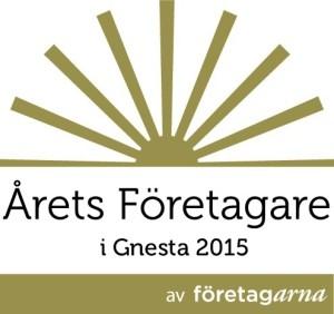 Årets Företagare i Gnesta 2015