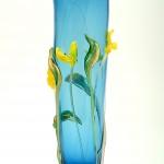 Unik vas - Böljande blommor - 2005