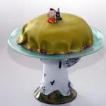 Kanel och kanin tårta